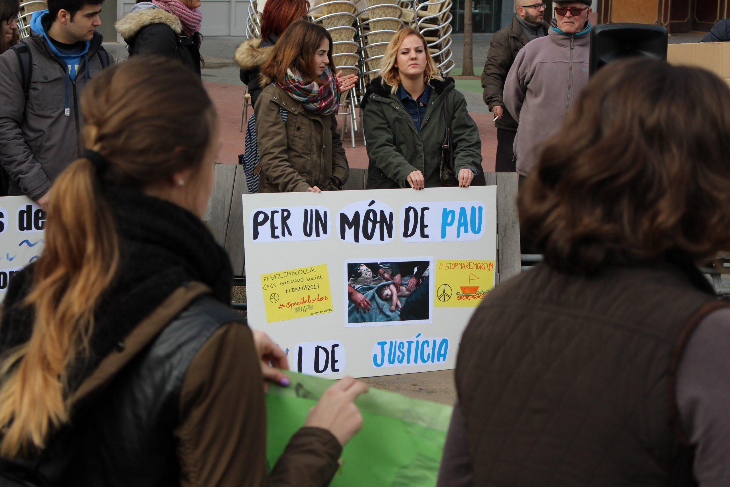 """La Coordinadora d'ONGD i aMS de Lleida convoca el concurs """"Animem el desarmament"""" amb la col·laboració de l'ANIMAC"""