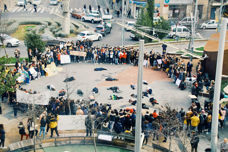 """""""El comerç d'armes com a obstacle per la pau"""" la proposta de la Coordinadora d'ONGD i aMS de Lleida pel DENIP 2021"""