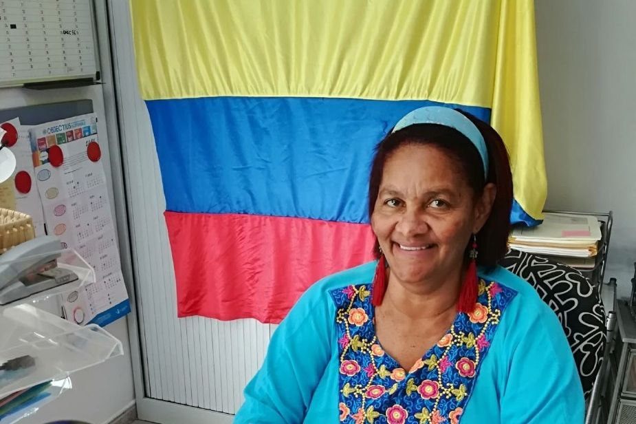 Marina Camargo, víctima colombiana resident a Ponent